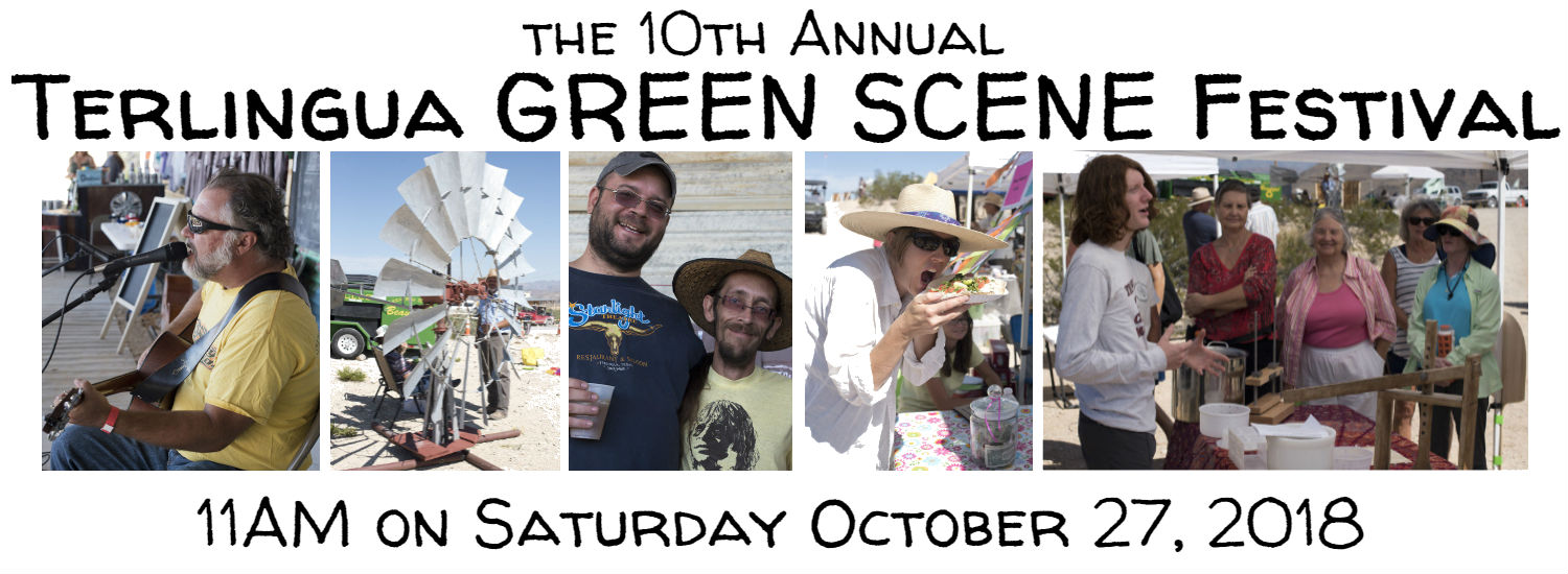 The 10th Annual Terlingua GREEN SCENE Festival
